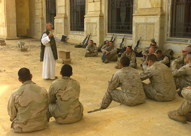 "Priests need to lead Catholic Men through ""Basic Training"""