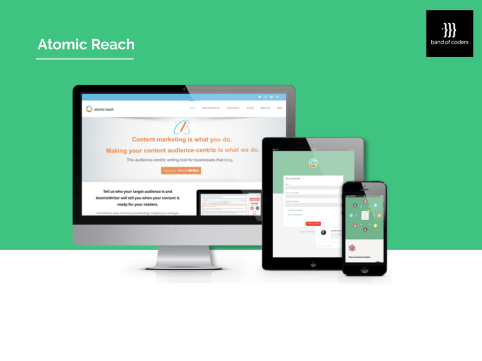 Atomic Reach Portfolio - Band of Coders