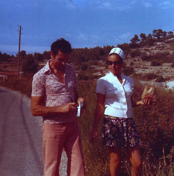 Parents en 1972-2