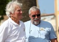 Berbard Rollet président du Yacht Club et Bernard
