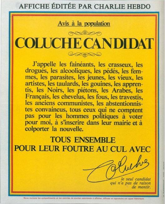 coluche-candidat-a-la-presidentielle1980-10-octobre-elections-presidentielles-affiche-charlie-hebdo-coluche-candidat-