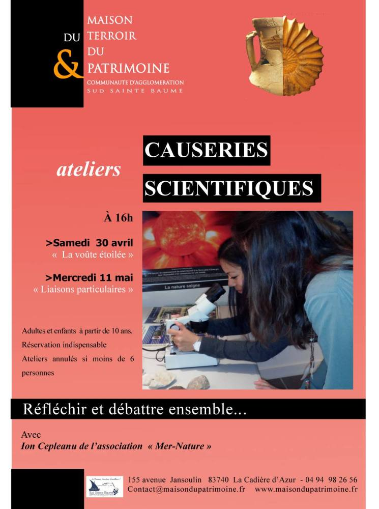 causeries scientifiques