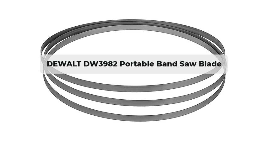DEWALT DW3982 Portable Band Saw Blade