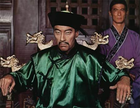 Christopher Lee as Fu Manchu in The Vengeance of Fu Manchu, 1967