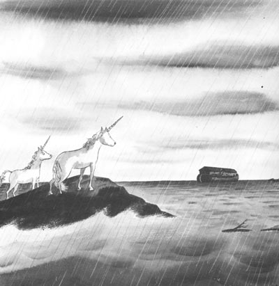Well looky there, it's the greatest cartoon you've ever seen in your life! (Charles Addams, New Yorker, 3/10/1956)