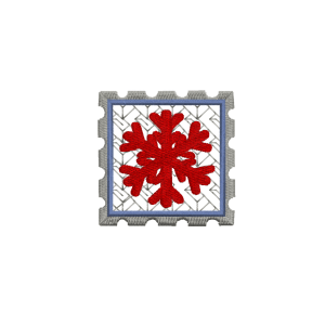 Snowflake Embroidery download design