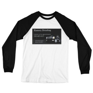 Ramsey Detailing Long Sleeve Baseball T-Shirt