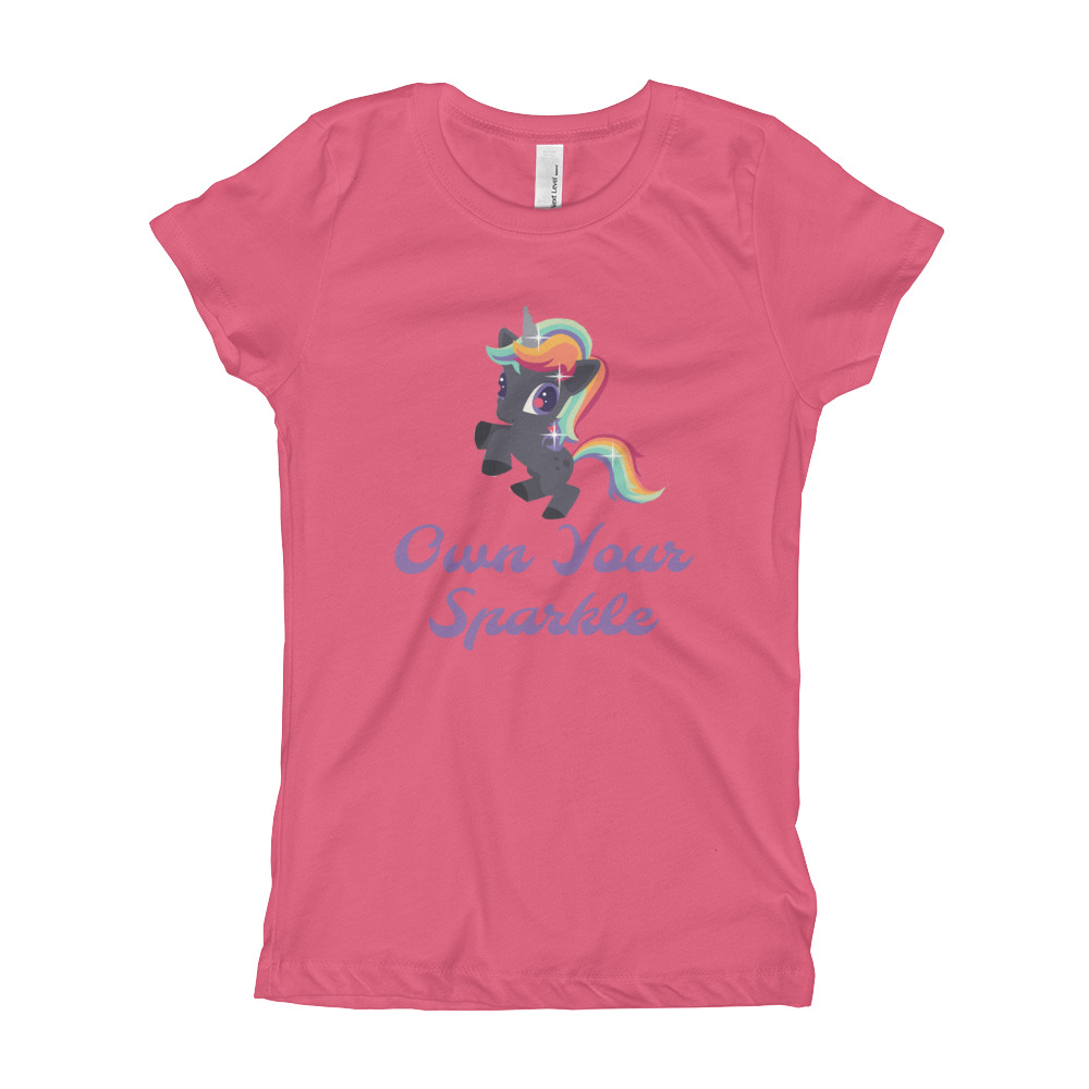 Own Your Sparkle Girl's T-Shirt