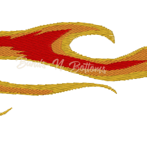 Flames Embroidery