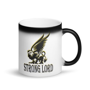 "Griffin ""Strong Lord"" magic mug"