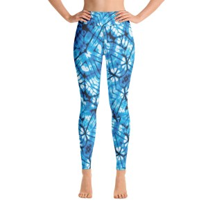 Blue Chill Yoga Pants