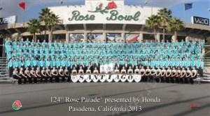 Santiago Band - 2013 Rose Parade