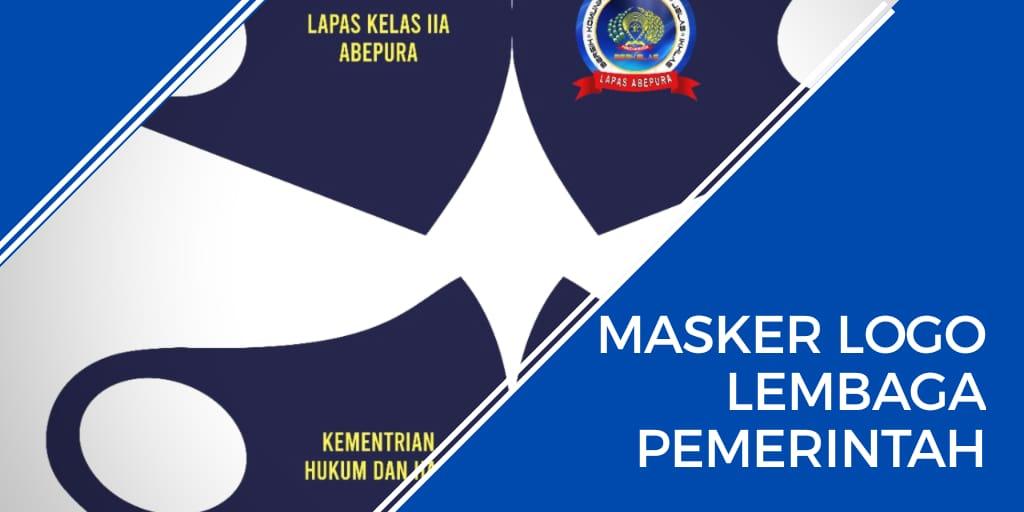 masker logo lembaga pemerintah