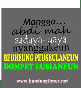 DP BBM, DP BBM Sunda