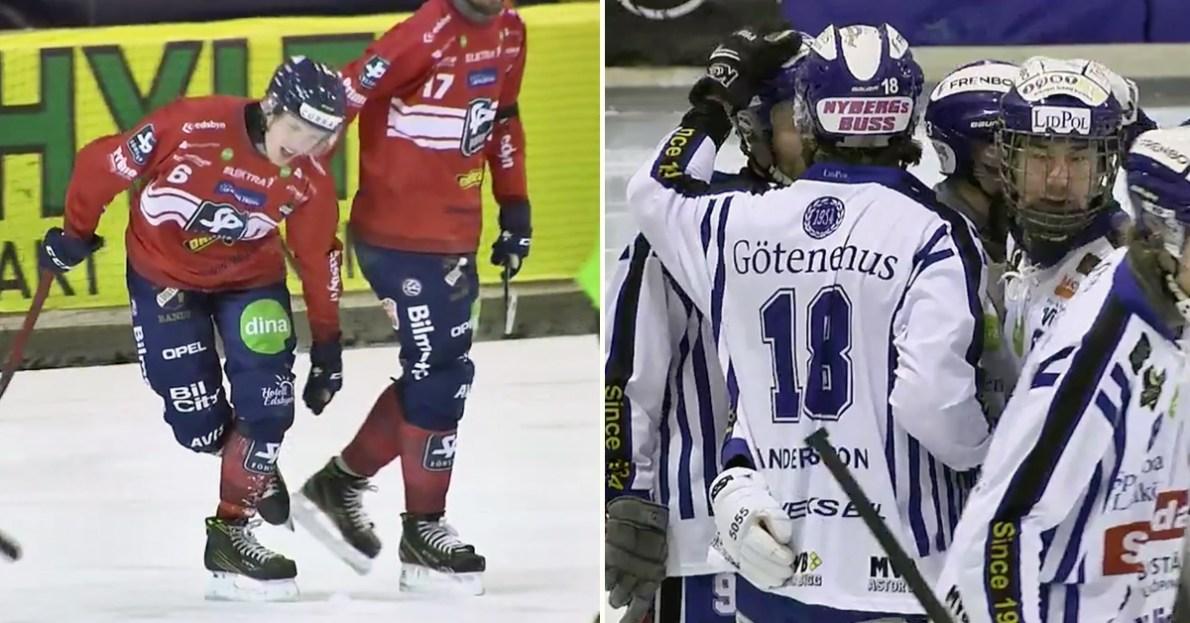 Martin Frid, Edsbyn, Villa, Edsbyn är i brygga, 0-2 i matcher,