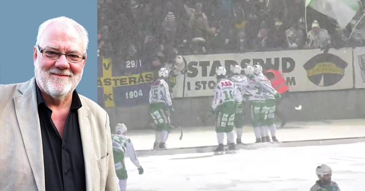 VSK, Hammarby, semifinal, semifinalen, snö, snöskottning