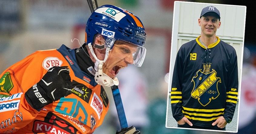 Patrik Nilsson, AIK, Bollnäs, nykomlingen AIK, presenterades Patrik Nilsson officiellt,