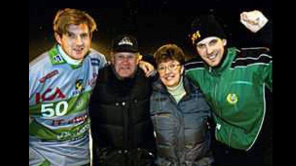 Andreas Bergwall, Lesjöfors, Lesjöfors IF, legendaren Andreas Bergwall