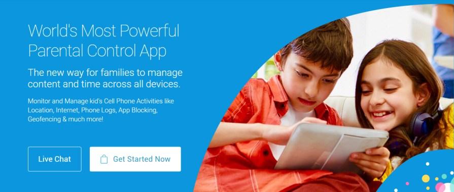 Parental control app