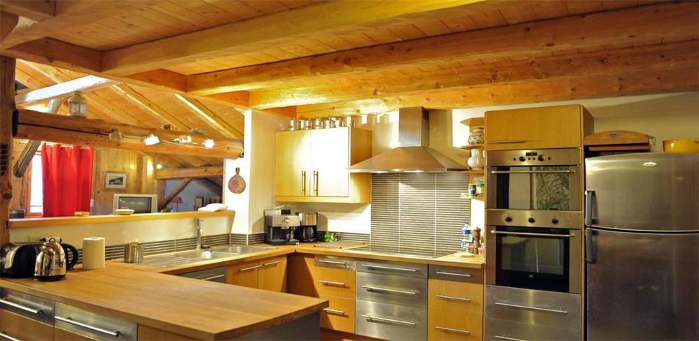 cuisine en bois blanc