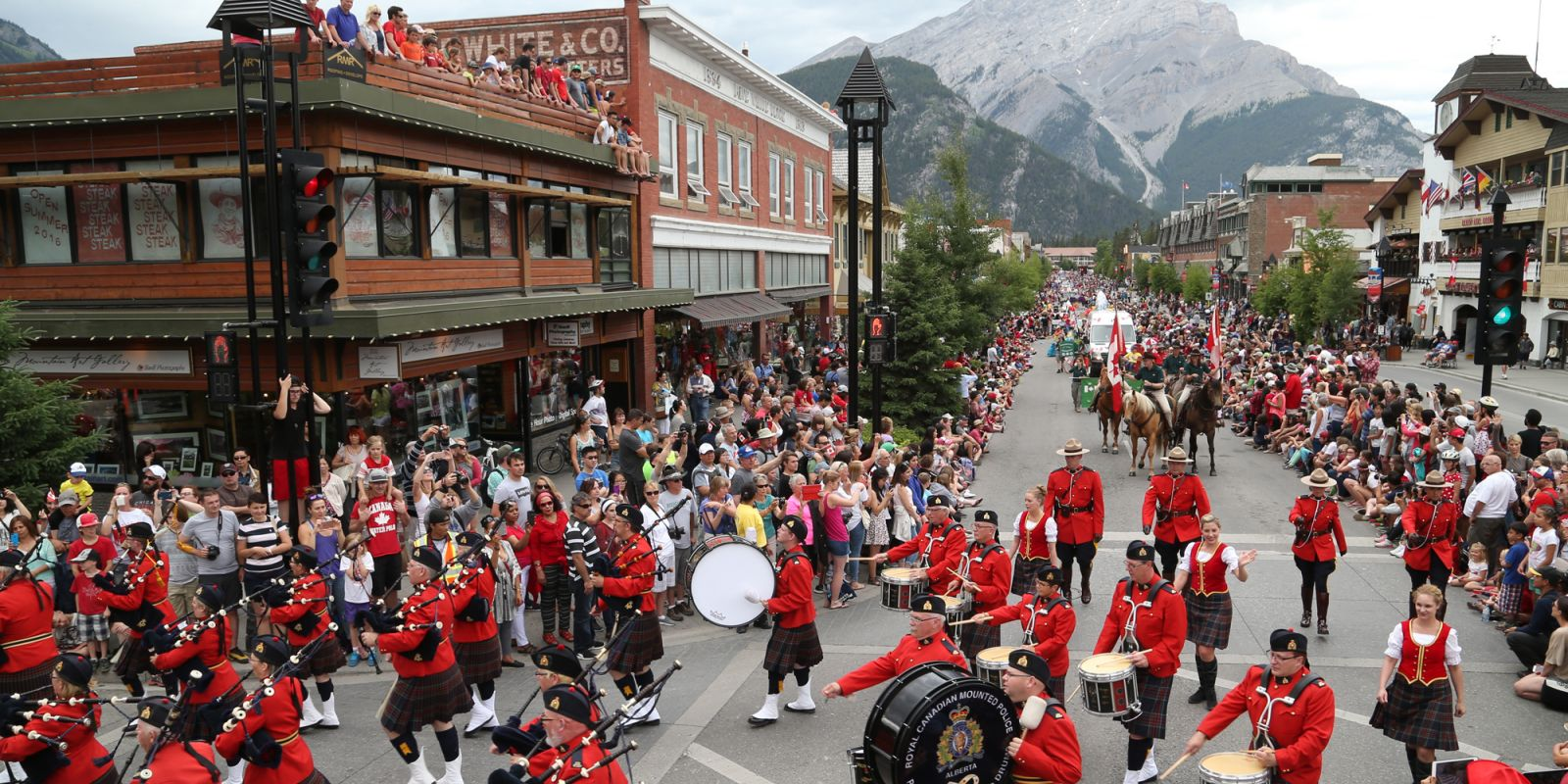 Canada Day In Banff And Lake Louise Banff Lake Louise