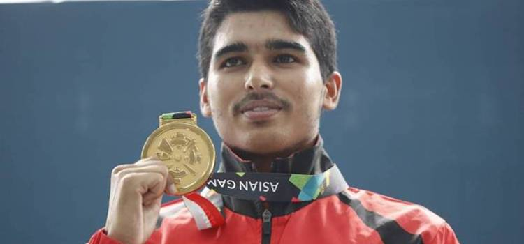 Sourabh Chaudhary won gold at the Youth Olympics