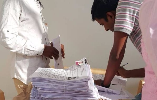 Voter registration drive by BBMP