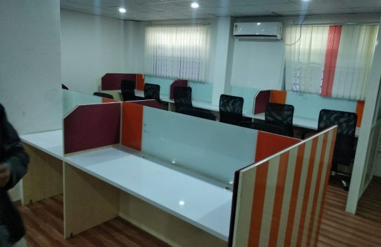 Plug and Play Office Space in Bangalore, Brigade road, 1800 sqft