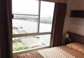 Lumpini Park Riverside Rama 3 – Bangkok condo for rent | 650 m. to Wat Dokmai BRT | nice river view