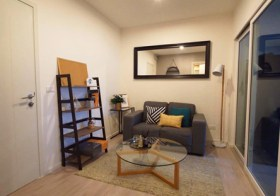 Aspire Sathorn Thapra – Bangkok apartment for rent | close to Talat Phlu BTS | 700 m. to Pho Nimit BTS | close to shopping & dining