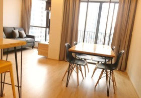 Ideo Q Ratchathewi – condo for rent in Bangkok | 5-8 mins walk to Ratchathewi-Phayathai BTS | quick walk to dining & shopping options