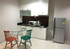 Sukhumvit Living Town – apartment for rent in Asoke, Bangkok | 350 m. to Phetchaburi MRT |  850 m. to Makkasan airport link