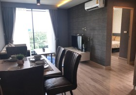 The Unique Sukhumvit 62/1 – condo for rent in Phra Khanong, Bangkok | 900 m. to Bangchak-Punnawithi BTS | nice open view, cozy & peaceful