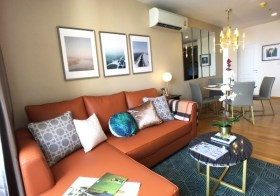 Noble Revo Silom – condo for rent in Silom-Sathorn, Bangkok | 250 m. to Surasak BTS | bright open view, fully furnished