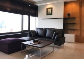 Amanta Lumpini – condo for rent in Bangkok | 5-7 mins walk to Khlong Toei – Lumphini MRT | bright city + river view, corner unit