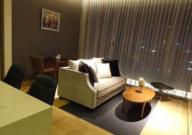 Saladaeng One – super luxury condo for rent in Bangkok | 10 mins walk to Silom MRT | great view overlooking Lumpini park