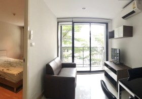 The President Sukhumvit 81 | condo for rent close to On Nut BTS | fitted kitchen + washing machine | on-site pool + gym