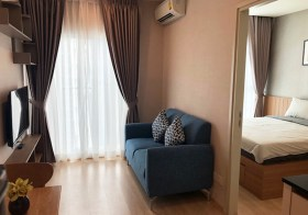 Noble Revolve Ratchada – condo for rent near Thailand Cultural Centre – Rama 9 MRT | 600 m. to Central Plaza shopping center