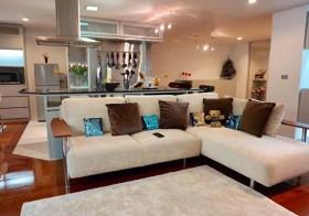 Silom Terrace – Bangkok condo for rent | 5 mins walk to Sala Daeng BTS/Silom MRT | 1 working room, 1 prayer room, washer/dryer