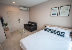 Ideo Mobi Sukhumvit Eastgate – condo for rent | 3-7 mins walk to Bangna – Bearing BTS | fitted kitchen + washer