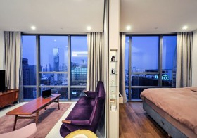The Bangkok Sathorn – super luxury condo for rent | 50 m. to Surasak BTS | unobstructed city view | 2 infinity rooftop pools