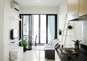 Ideo Ratchada Huaykwang – Bangkok condo for rent | steps to Huai Khwang MRT | fully furnished, newly renovated