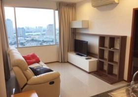 Villa Sathorn – Bangkok condo for rent | steps to Krung Thonburi BTS | nice river view | gym/pool/sauna/garden on-site