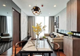 Wish Signature Midtown Siam – condo for rent | 7-10 mins walk to Ratchathewi-Phayathai BTS & airport link | gym, pool, sky lounge