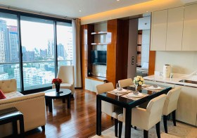 The Address Sukhumvit 28 condo | 5 mins walk to Phrom Phong BTS & Em district | east facing + unobstructed view