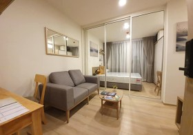 Chambers Onnut Station condo | 260 m. to On Nut BTS | fitted kitchen + washer | gym, pool, garden, co-working space