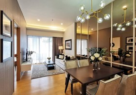 Siamese Exclusive 31 condo | shuttle service to Phrom Phong BTS | unobstructed view | bathtub + washer/dryer