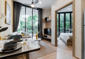 KAWA HAUS Sukhumvit 77 – Bangkok condo for rent | 1.6 km. to On Nut BTS | fully furnished | direct access to canalside garden