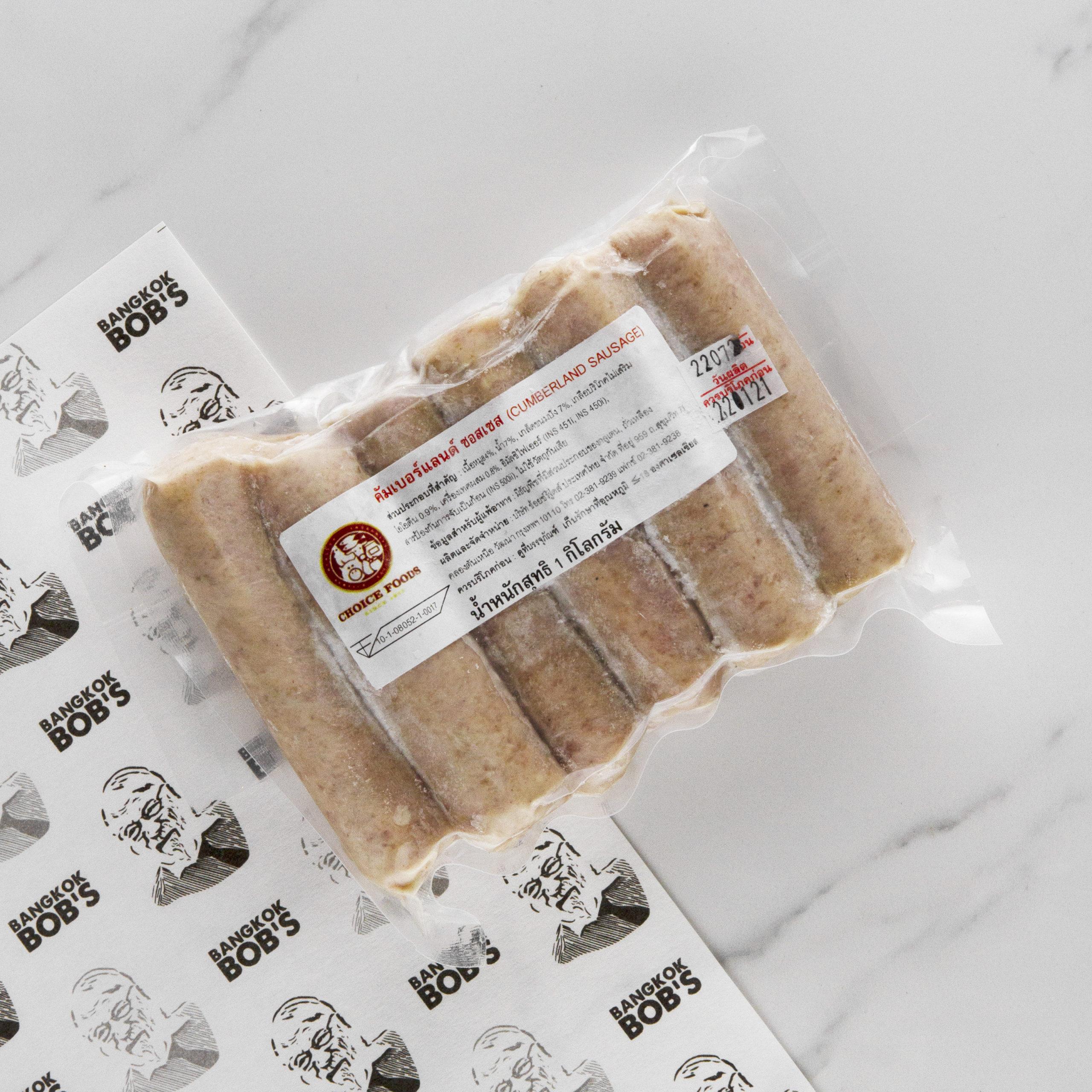 Pork Cumberland Thin Sausage