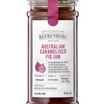 Close up of Australian Caramelised Fig jam from Beerenberg